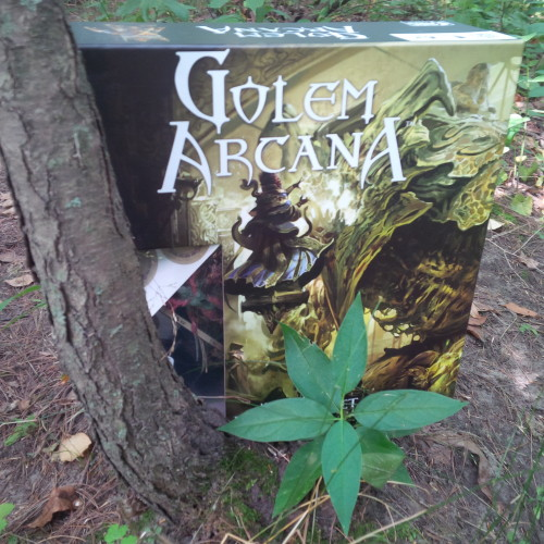 Board Game Habitat - Golem Arcana