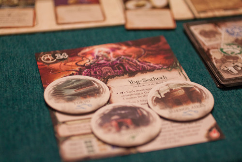Yog Sothoth, the Lurker at the Threshold is about to devour the world.