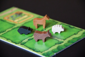 Agricola All Creatures Big and Small - Meeples