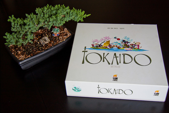 The Tokaido box in its austere beauty.
