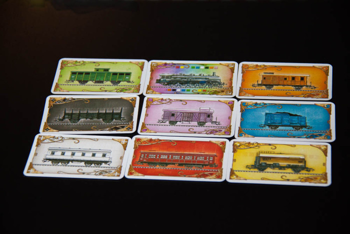 Trains every colour of the rainbow!