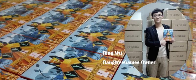Bing Wu of BangWee Industry Ltd