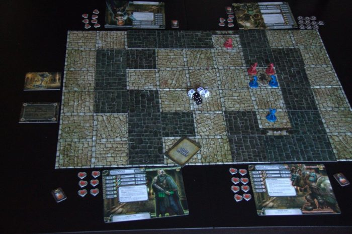 The map is laid out for the initial descent into the Undercity.